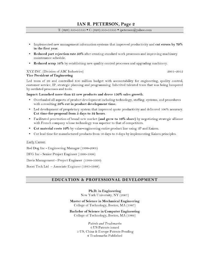 Entry Level Resume Format | Resume Format And Resume Maker