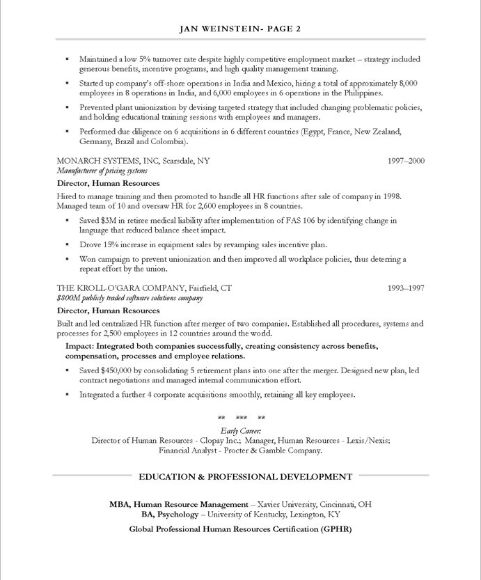 resume examples with an mba resume samples free sample resume mba