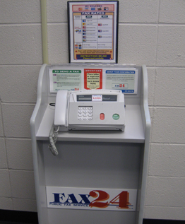 free fax machine near me