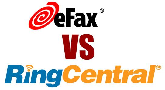 ringcentral vs efax