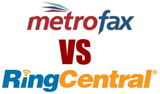 ringcentral vs metrofax