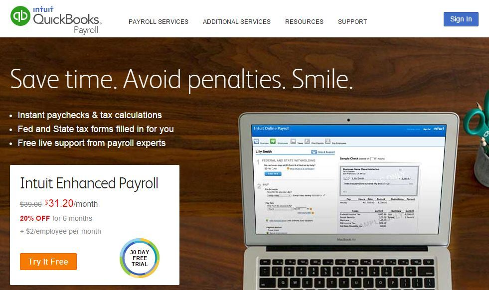 Intuit Enhanced Payroll Free Trial